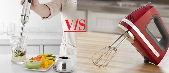 Immersion Blender vs. Hand Mixer