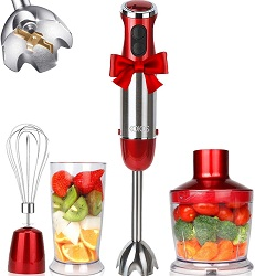 KOIOS 800W 4-in-1 Multifunctional Hand Immersion Blender