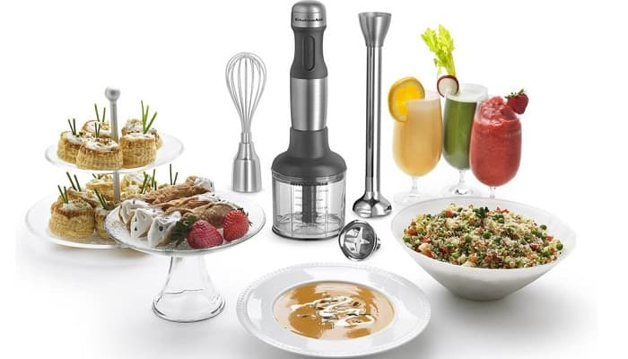 KitchenAid KHB2571SX 5-Speed Hand Blender