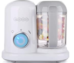 QOOC 4-in-1 Mini Baby Food Maker